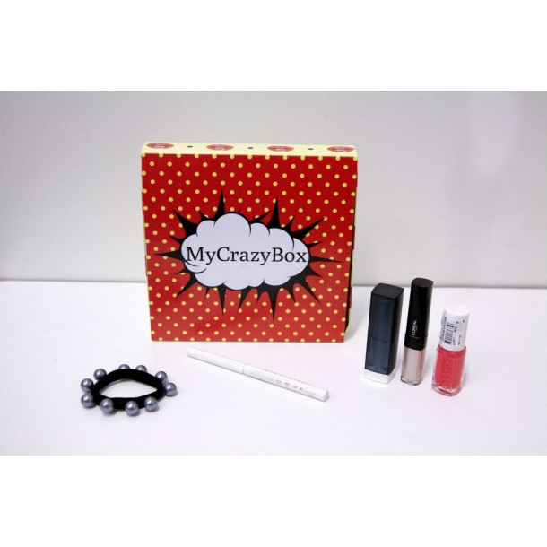 Box d'avril 2019 : MyCrazyBox Lumineuse !