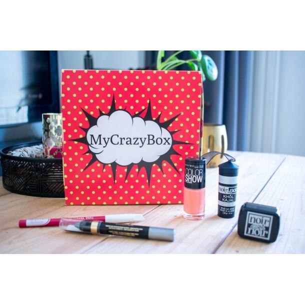 Box d'août 2019 : MyCrazyBox Mille et Une nuits !