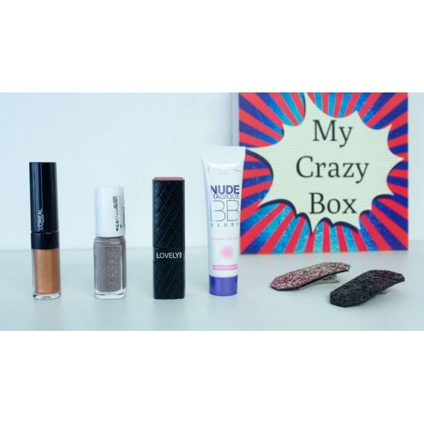 Box de Décembre 2019 : MyCrazyBox Belle de Nuit !