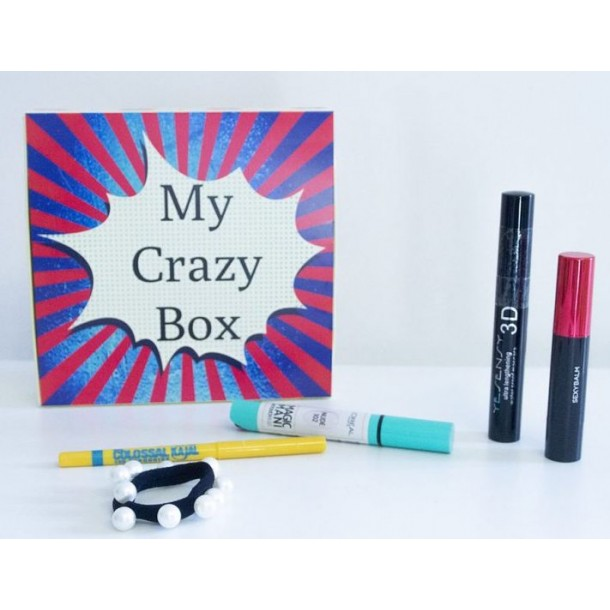 Box de Janvier 2020 : MyCrazyBox  !