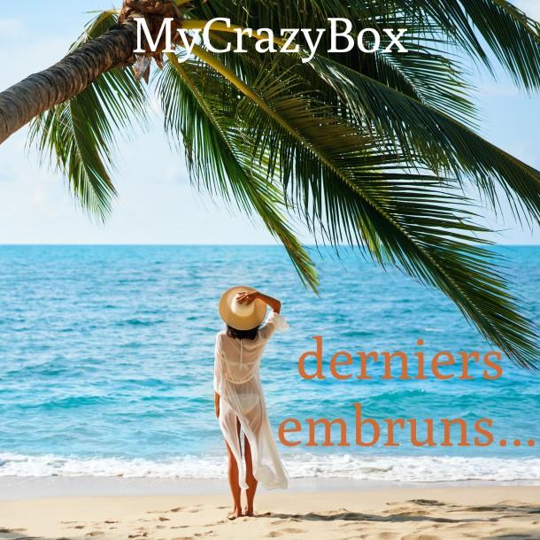 Box d'août 2020 : MyCrazyBox Derniers Embruns !